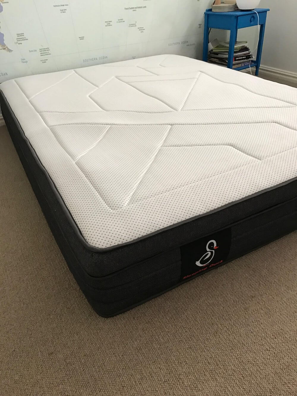 Fresh It us a deep mattress too and we could see the top layer is actually three layers of ultra fortable ultra breathable and ultra cool materials