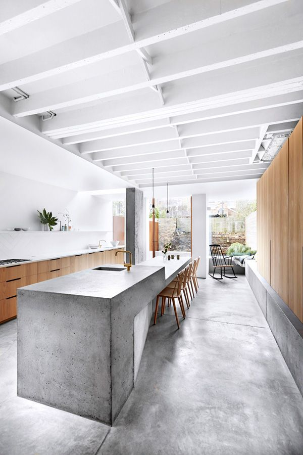 The Versatility Of Concrete Kitchen Benches