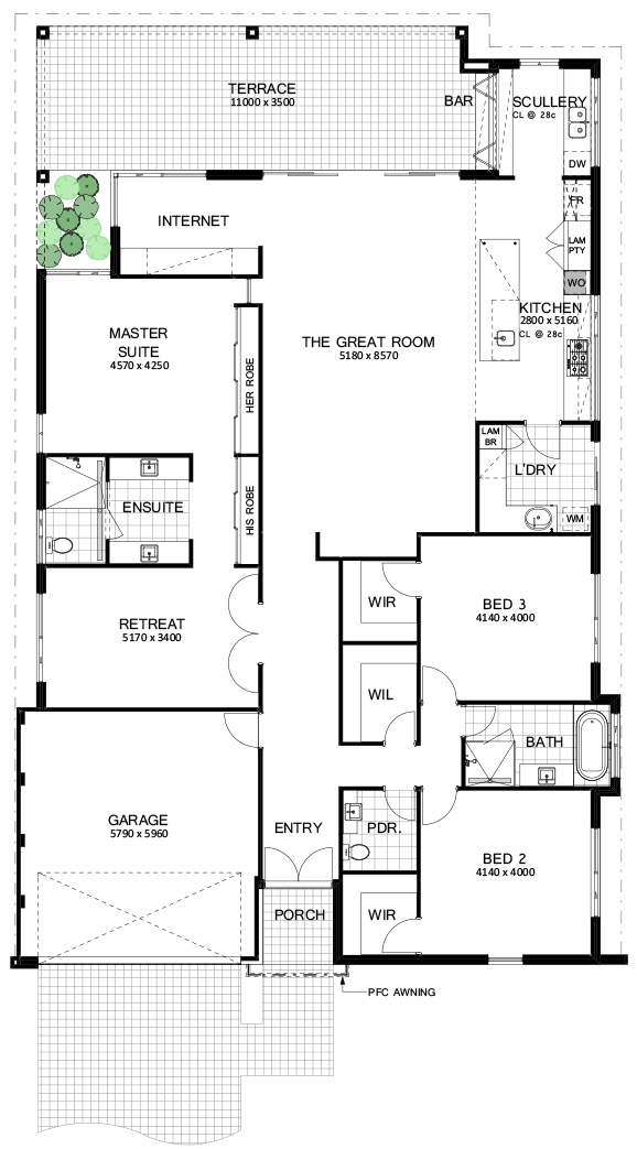 Floor Plan Friday 3 Bedroom Great Room And Perfect