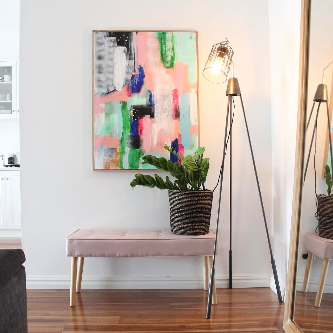 Diy Abstract Art No Paintbrushes Required