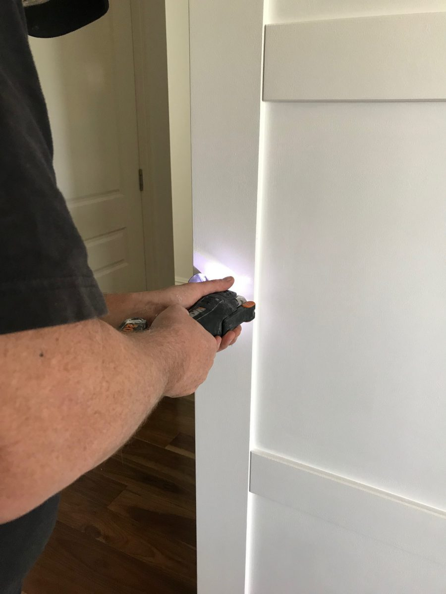 Cavity Door Bunnings Amp Lastly Was A Coat Of Paint On The