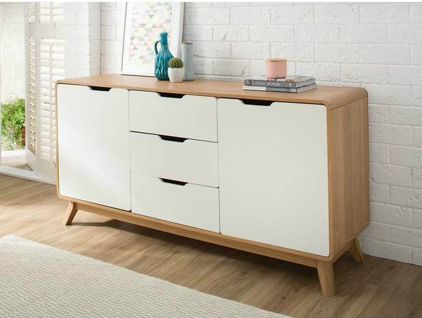 ... With A Classic Two Tone White And Oak Colour Scheme. For Those Who Have  Been Seeking Out Designer Level Affordable Furniture, Fantastic Furniture  Has ...