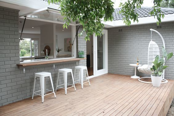 Painted Brick Facades For Instant Curb Appeal