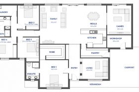 Perfect Floor Plan Friday Wide frontage family home