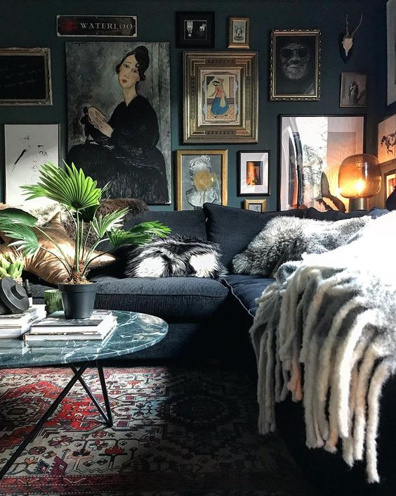 A Dark Cozy Moody Masculine Bedroom Lots Of Wood Dark: Masculine Living Rooms To Pin Right Now