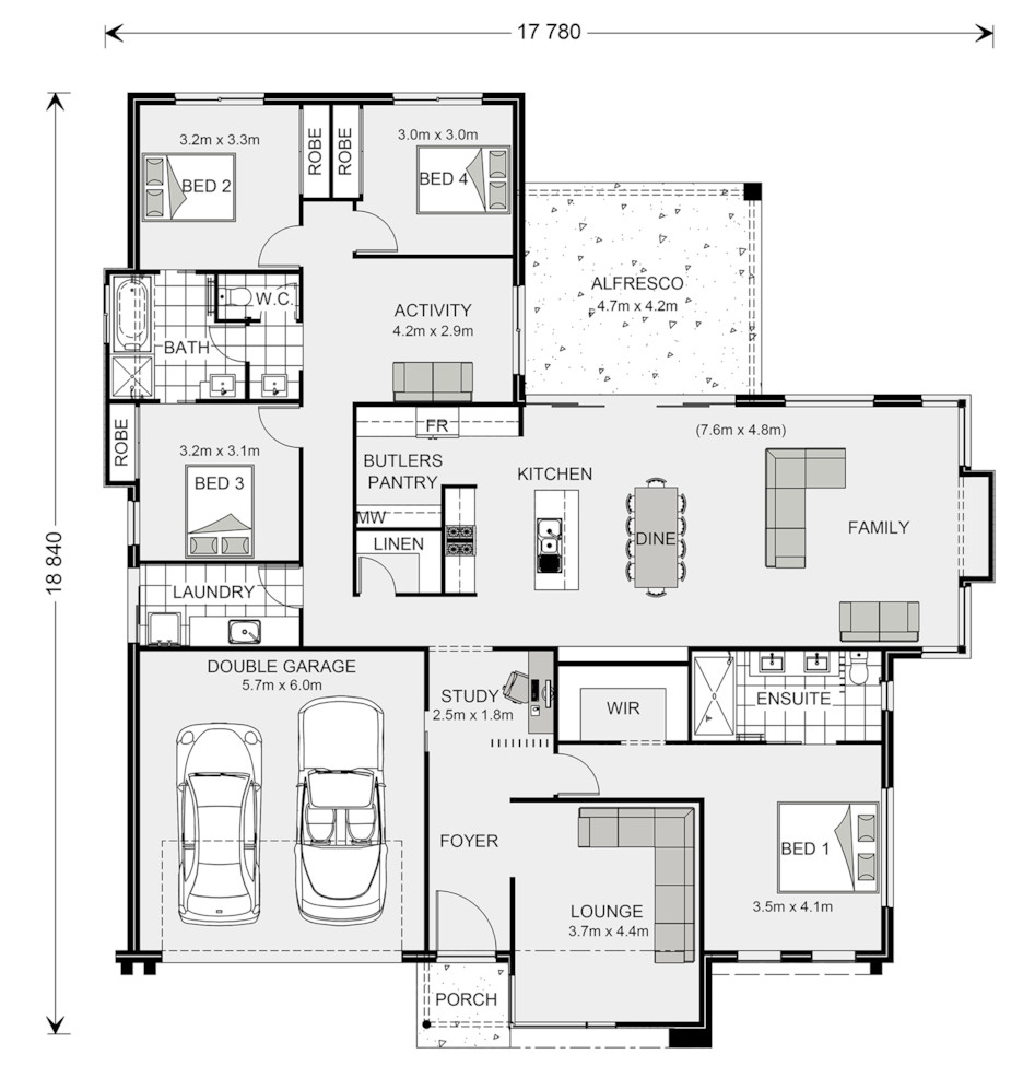 Floor Plan Friday: Jack And Jill Bathroom For The Kids