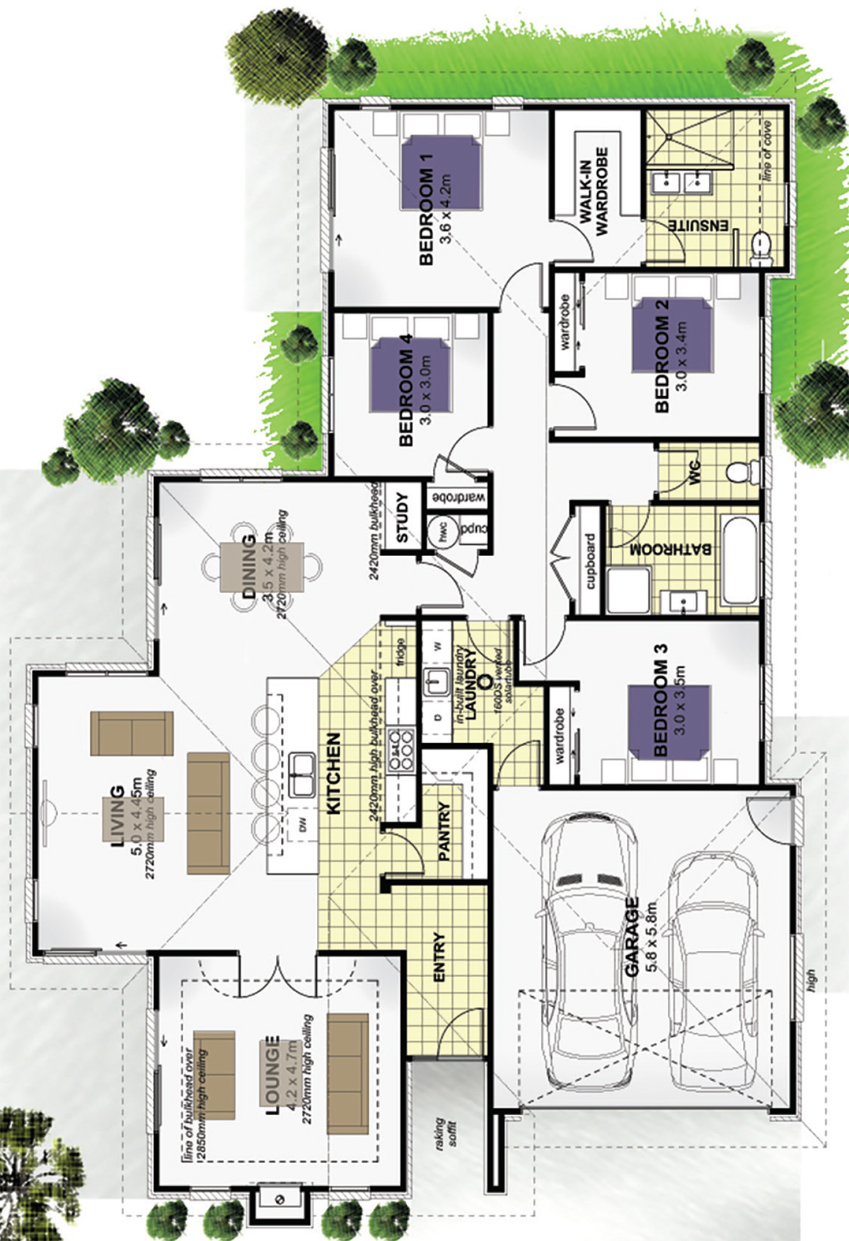 Decorating Small Open Floor Plan Living Room And Kitchen: Floor Plan Friday: Large Kitchen With Open Plan Living
