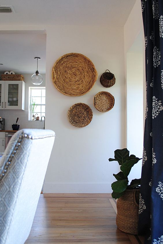 How to rock a decorative basket wall at home & where to ...