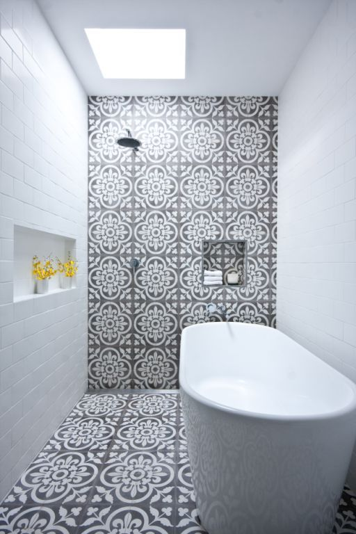 50 Beautiful bathroom tile ideas - small bathroom, ensuite floor
