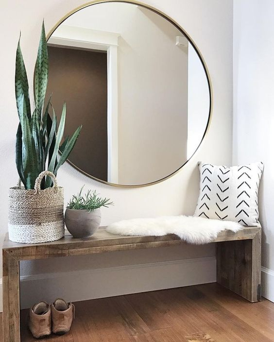 1000 Ideas About Circle Mirrors On Pinterest: Dress Your Entry With These 5 Items