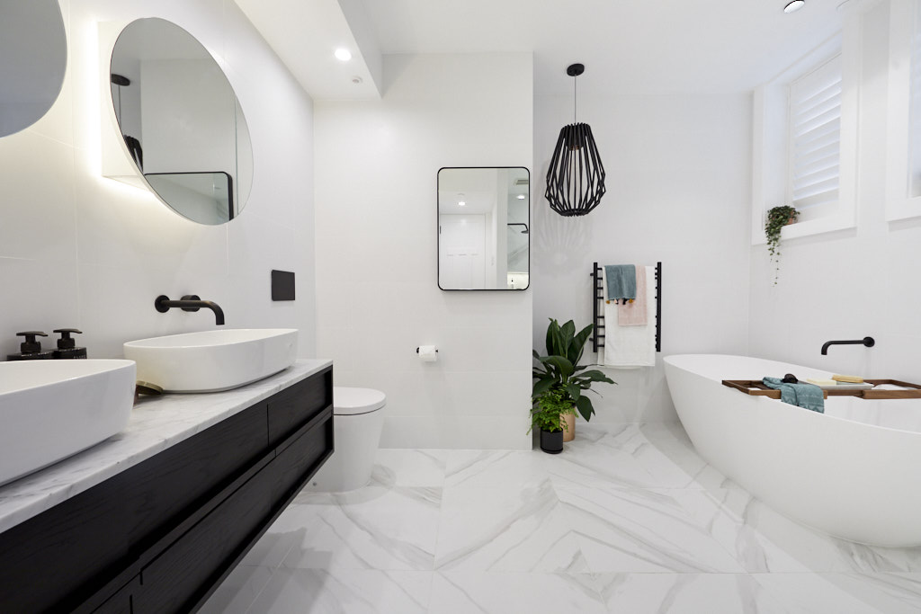 The Block 2018 Gatwick: Main Bathroom Reveal