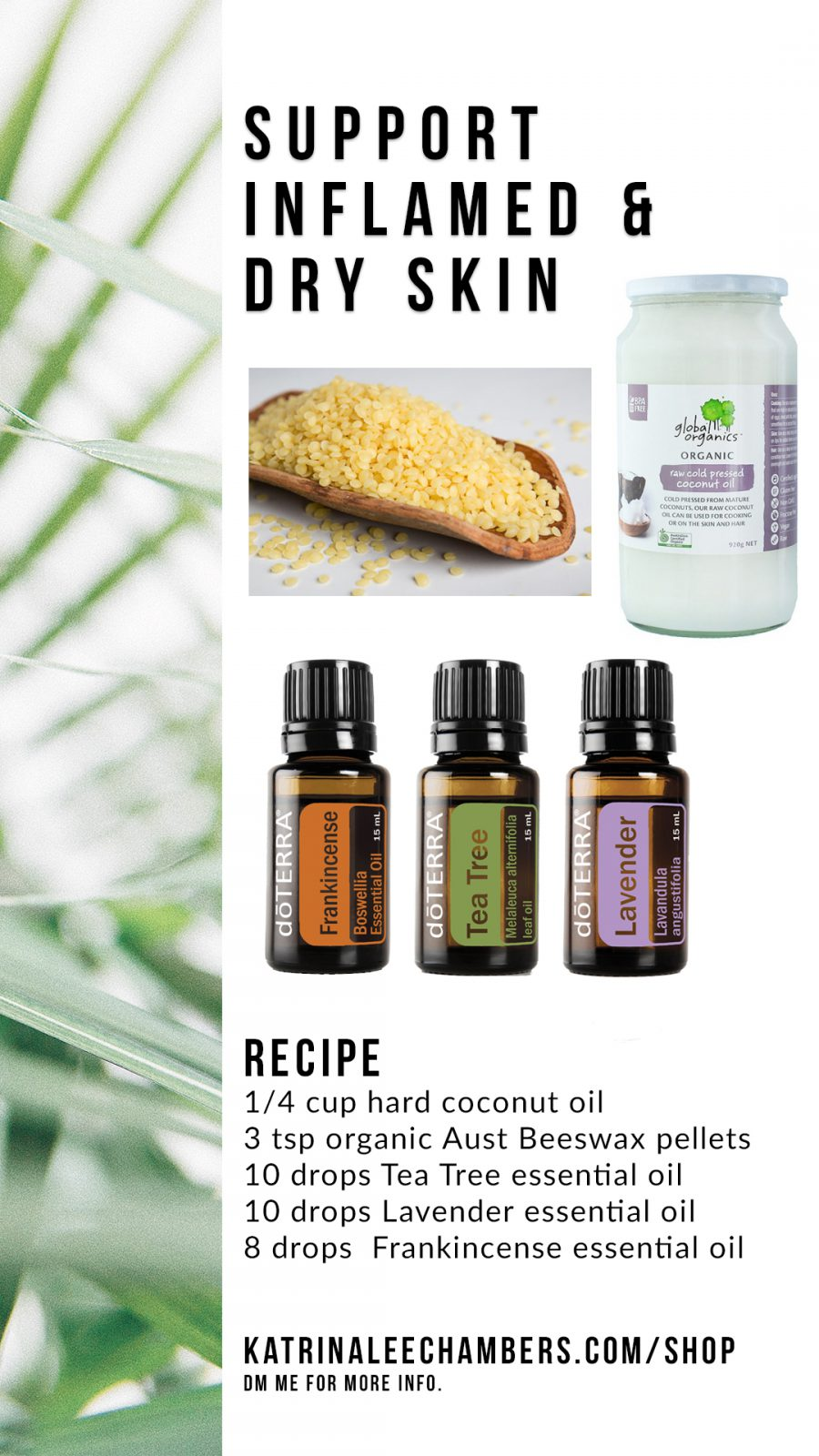 Support Inflamed Dry Skin Using Essential Oils