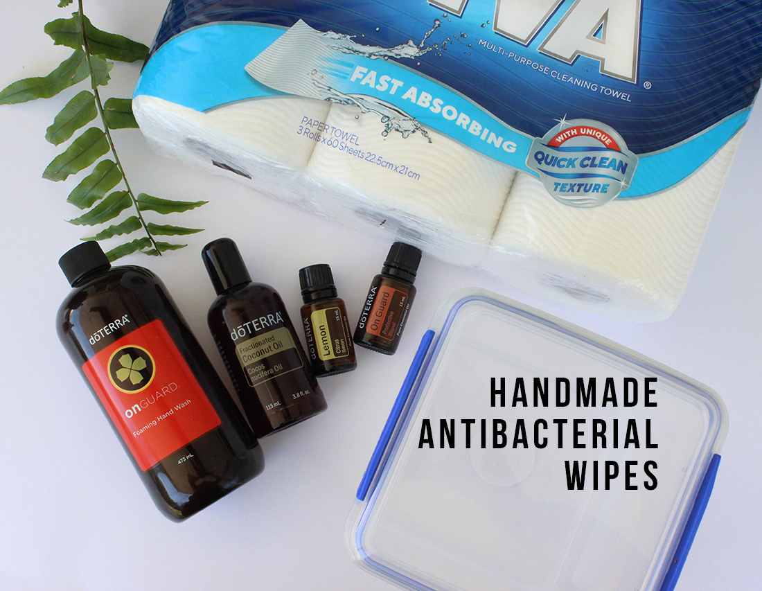 DIY: Handmade disinfectant wipes