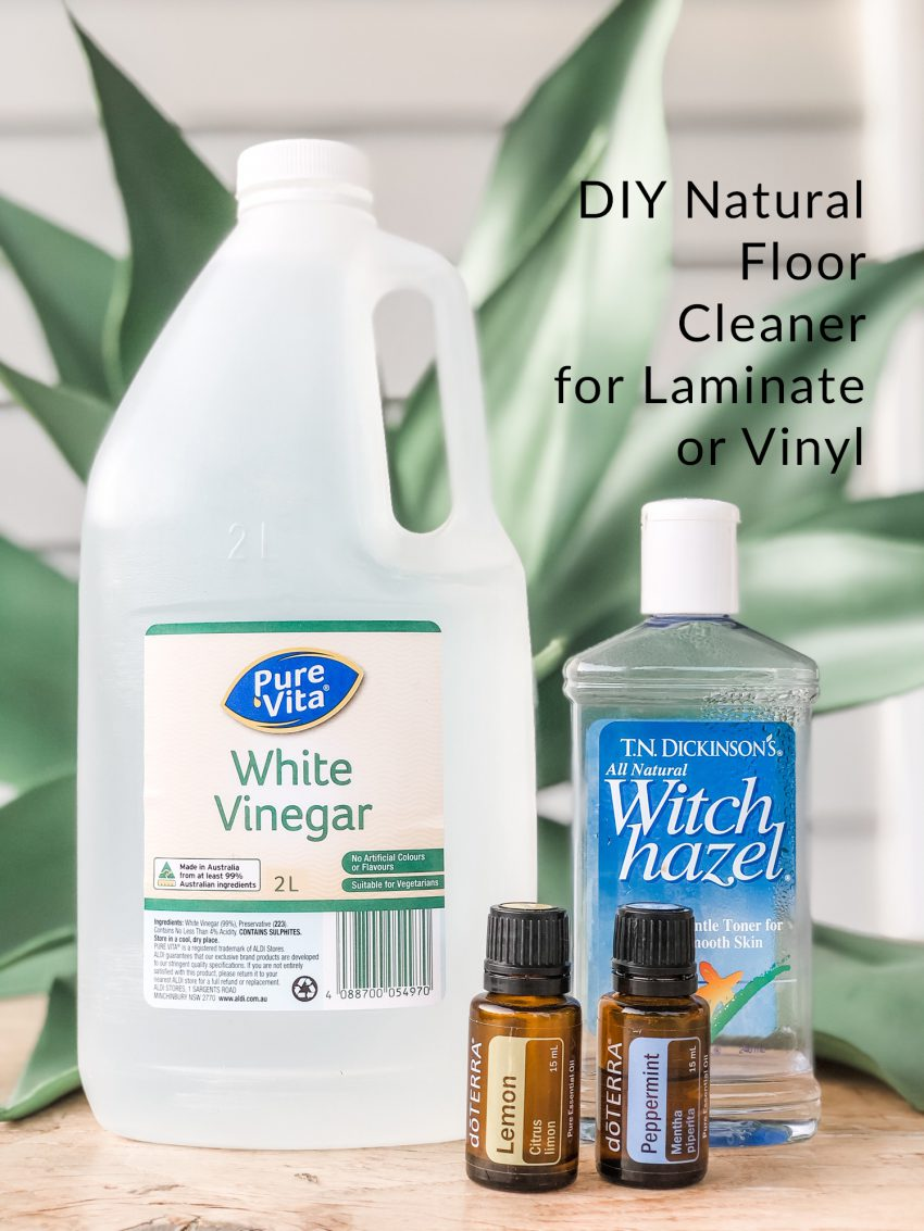 DIY Natural Floor Cleaner for Laminate